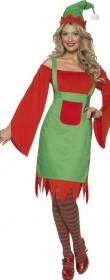 Déguisement femme elfe de noel