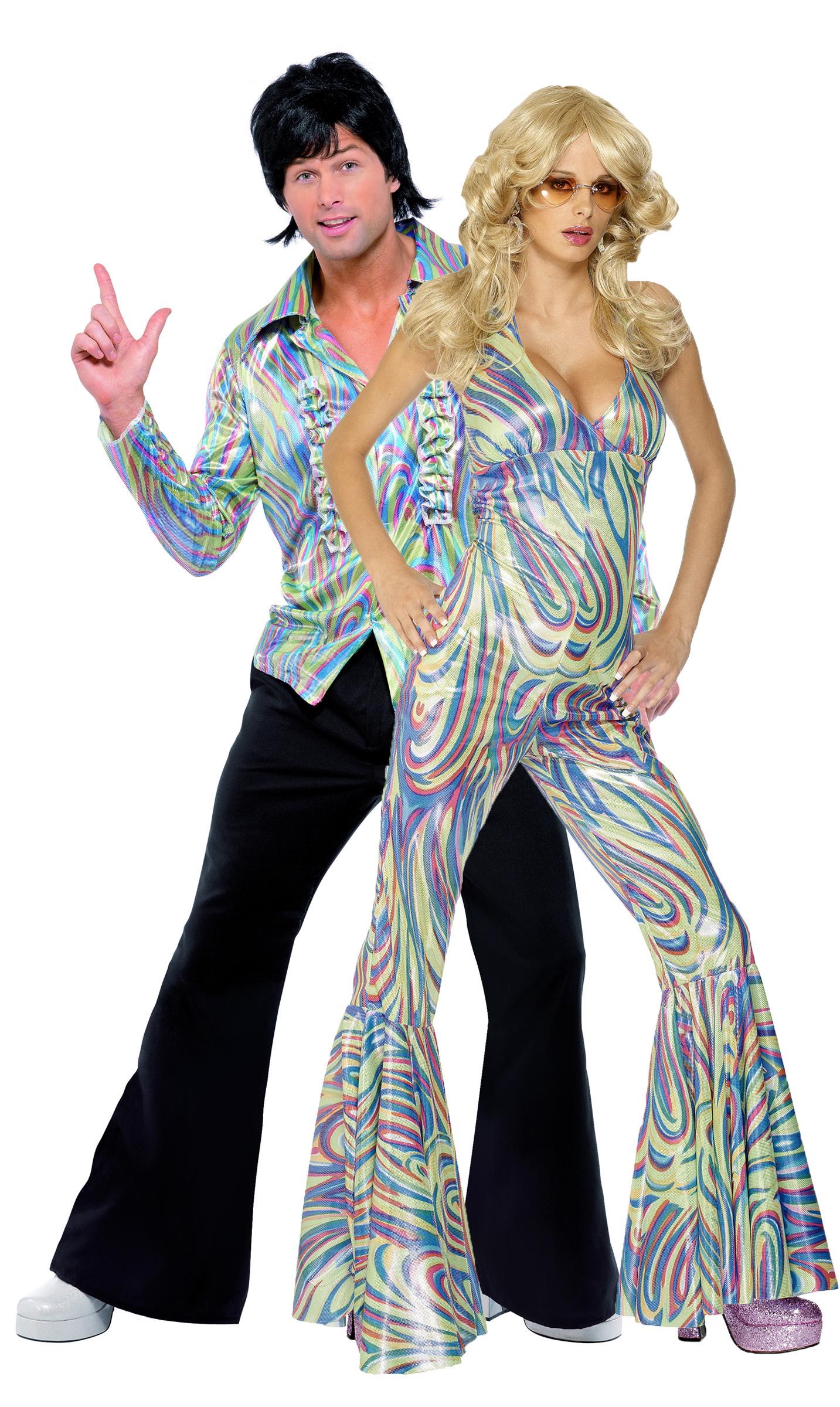 déguisement couple disco