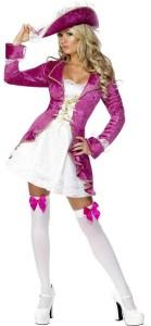 déguisement pirate baroque femme