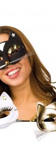 Masque de chat femme