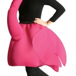 d guisement flamand rose adulte costume oiseau original. Black Bedroom Furniture Sets. Home Design Ideas