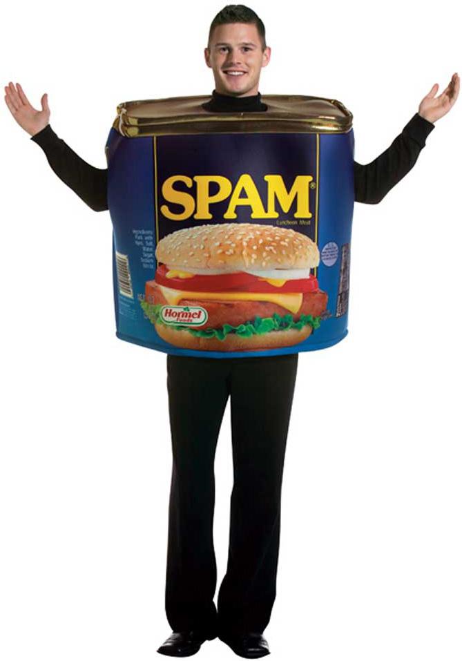 deguisement spam