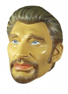 Masque Johnny Halliday