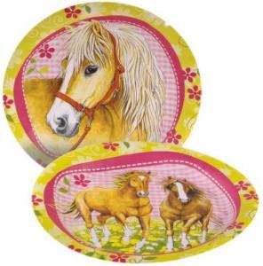 assiette cheval