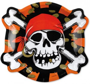assiette pirate