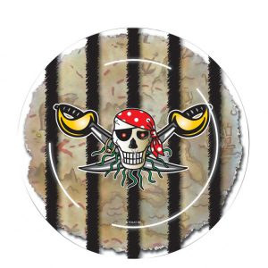 assiettes pirate anniversaire