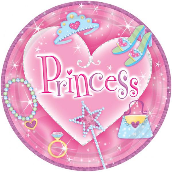 Assiette de princesse