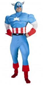 deguisement captain america