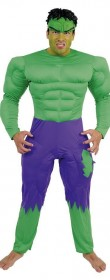 Déguisement Hulk adulte