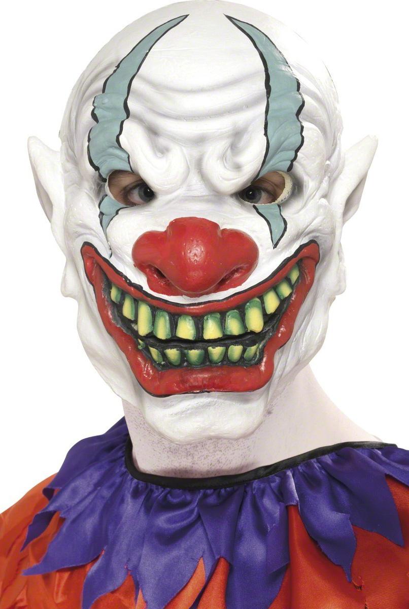 masque clown horreur