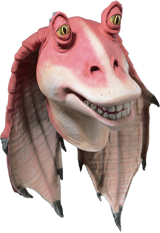 masque de jar jar binks