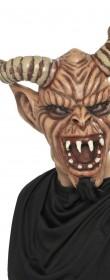Masque diable cornu