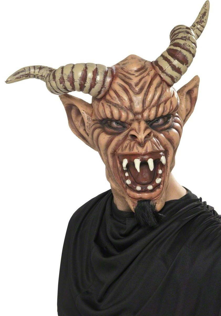 masque diable corne
