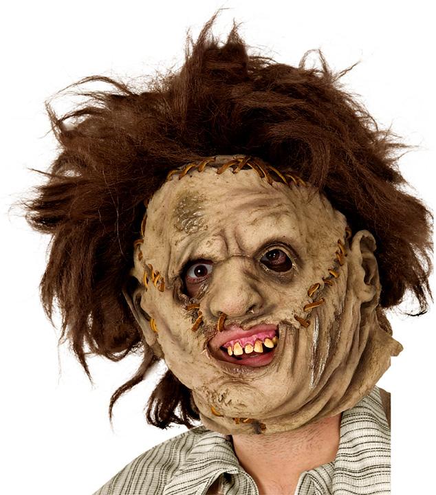 masque horreur cicatrice