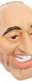 Masque Jacques Chirac