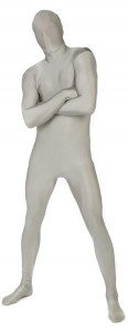 morphsuits argent adulte