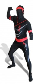Morphsuit ninja adulte