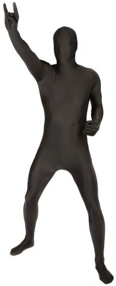 morphsuits noir