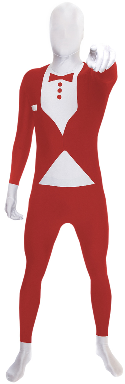 morphsuits serveur rouge