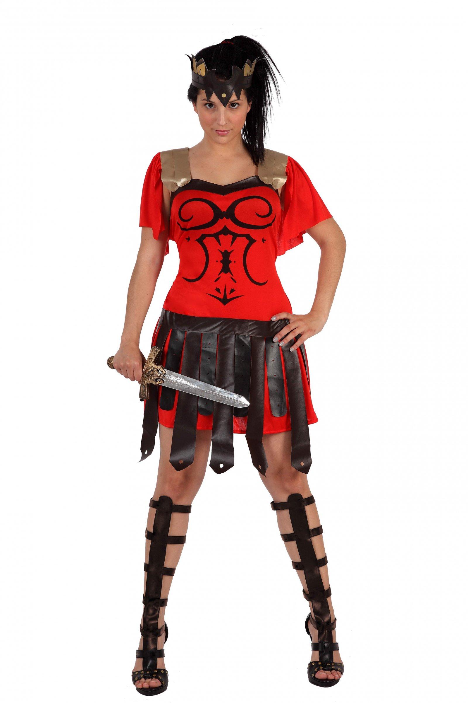 déguisement gladiateur femme