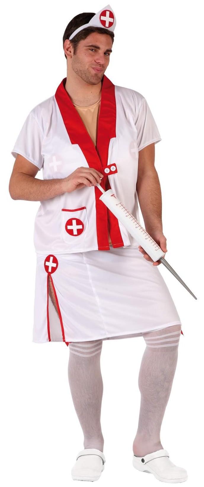 deguisement infirmière homme