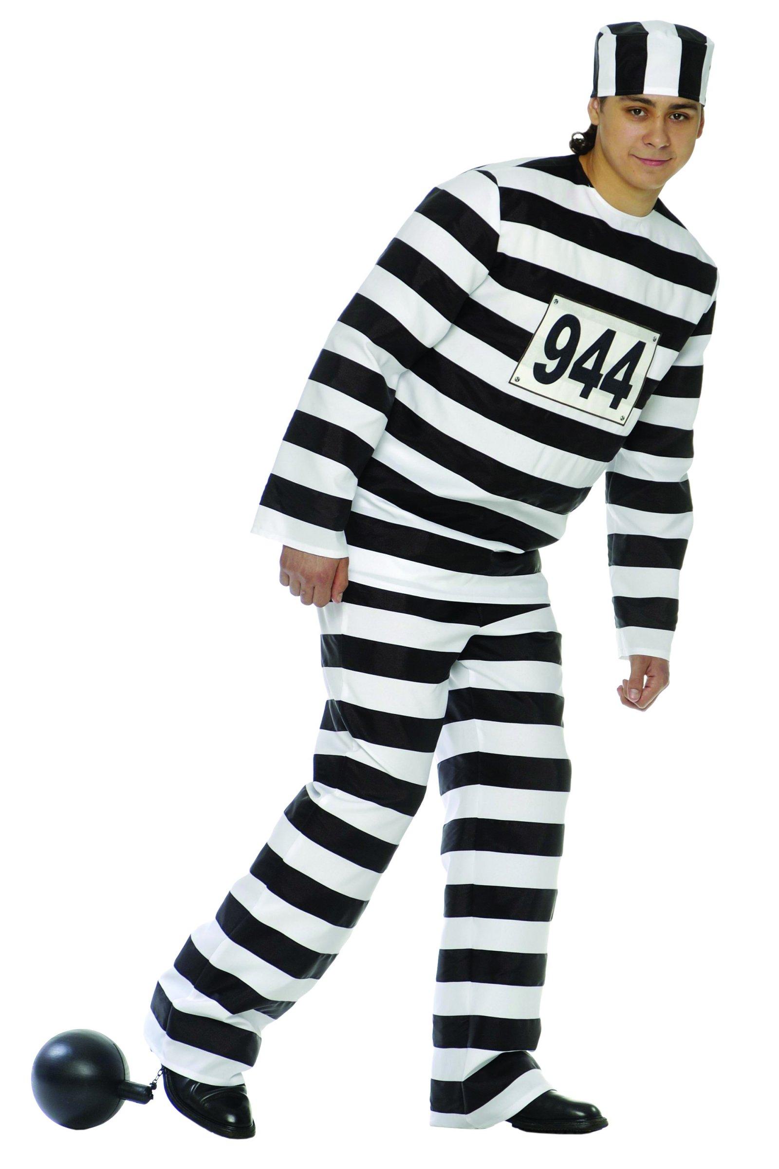 deguisement prisonnier avec boulet