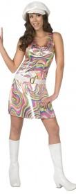 Robe disco femme