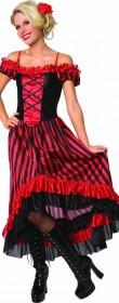 Robe de cabaret burlesque