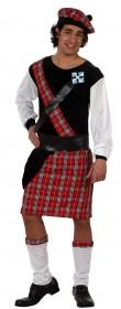 Déguisement d'écossais en kilt