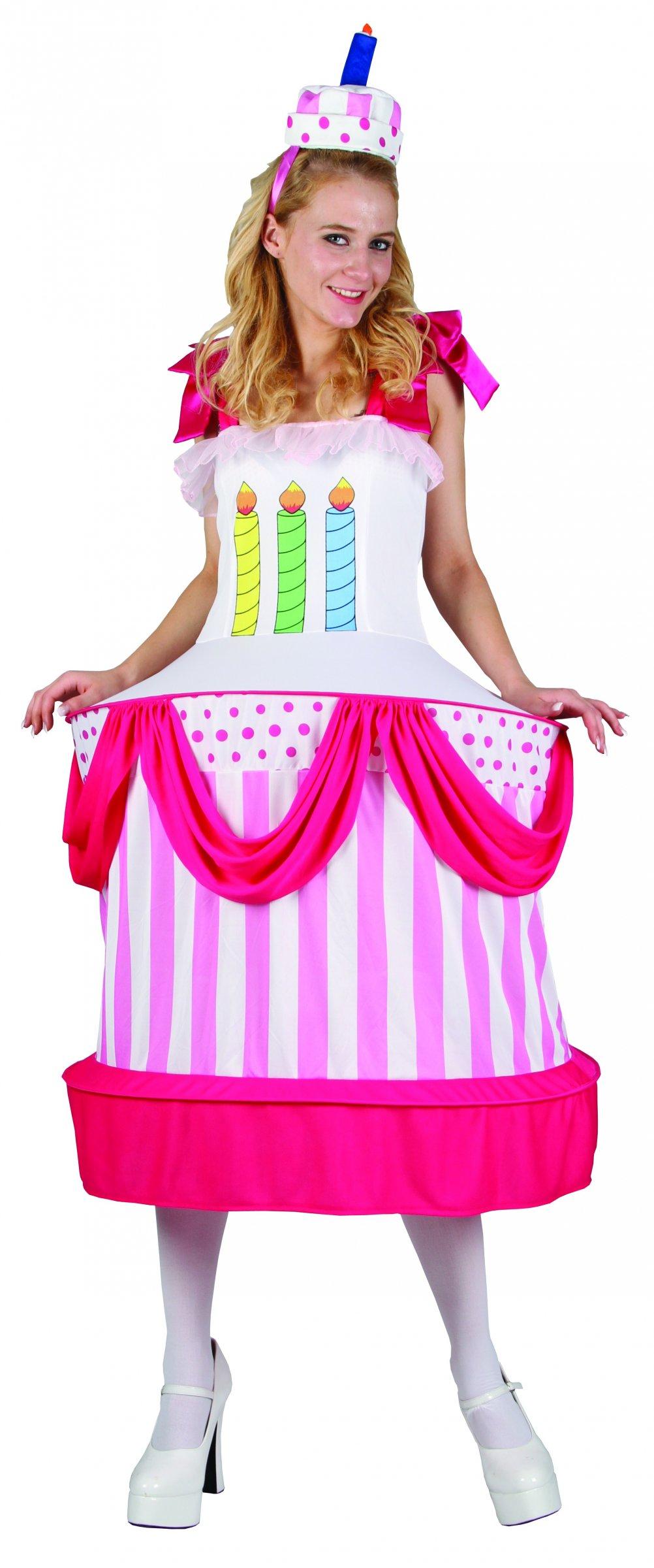 Déguisement de gâteau anniversaire - Costume femme original 43ea05cc39de