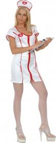 Blouse blanche d'infirmière