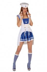 uniforme marin femme