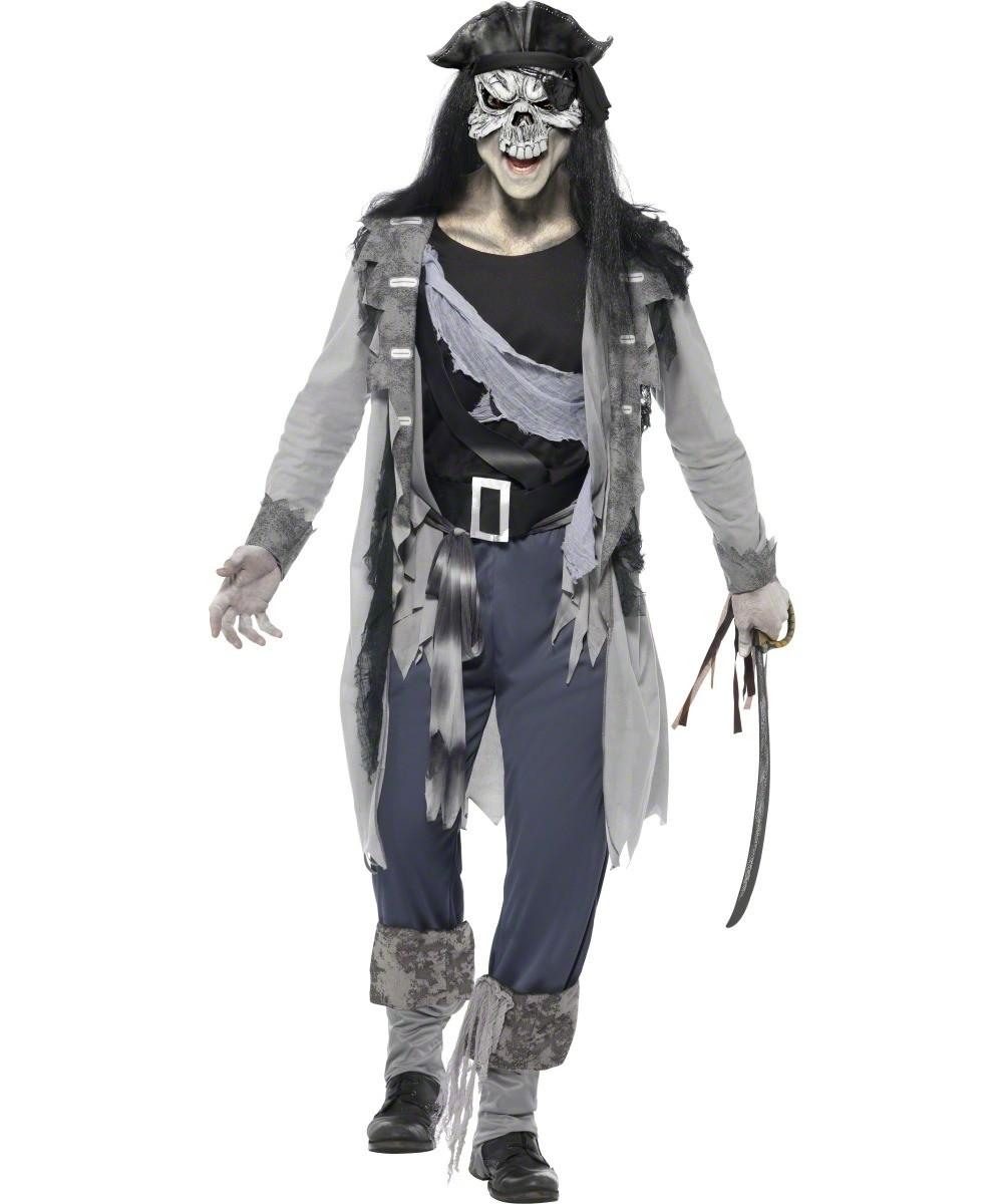 D guisement pirate fant me costume halloween pirate - Pirate fantome ...