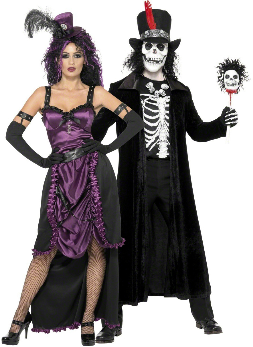 D guisement couple gothique costume halloween couple - Deguisement couple halloween ...