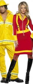 Déguisement couple pompier