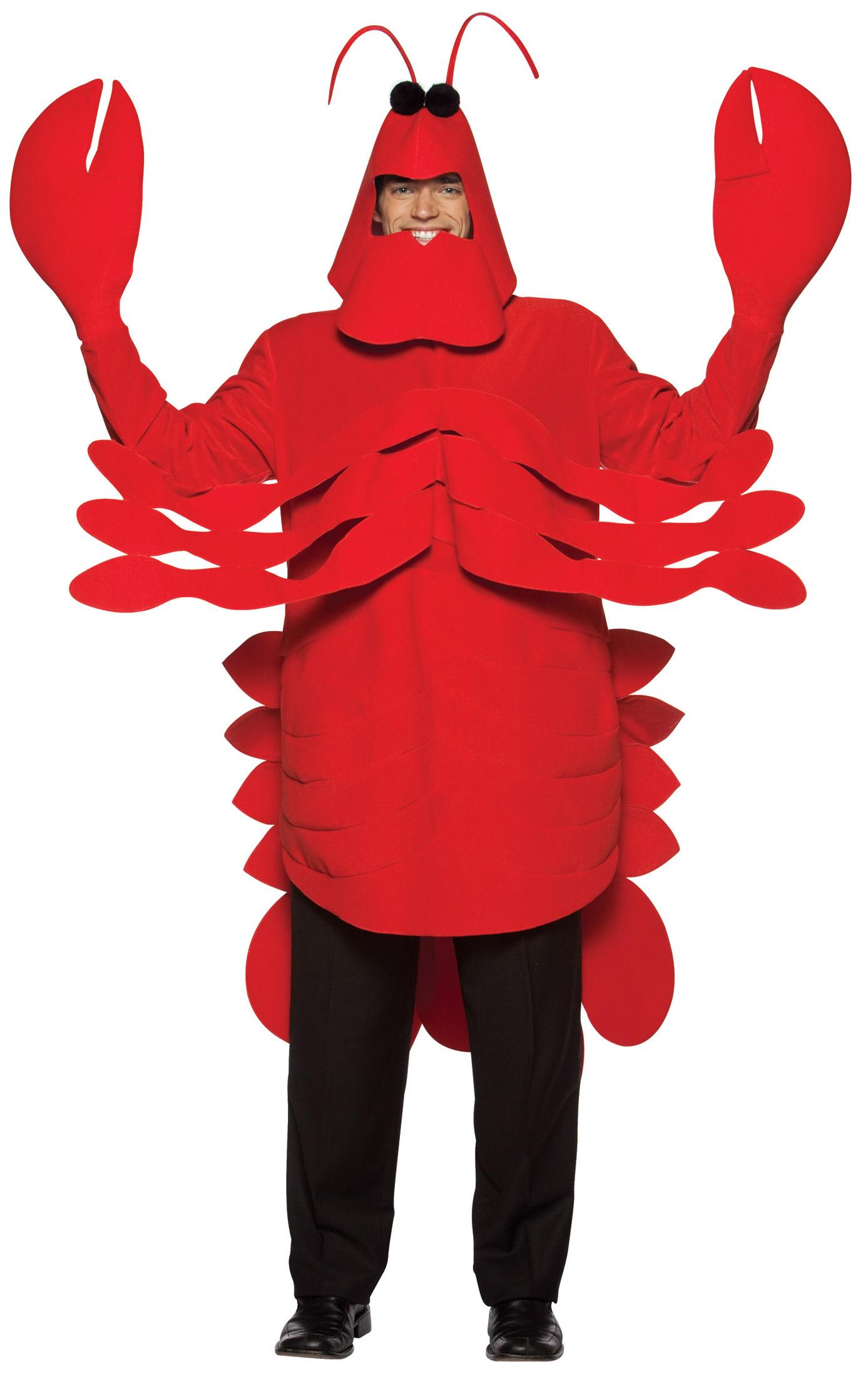 Déguisement de homard