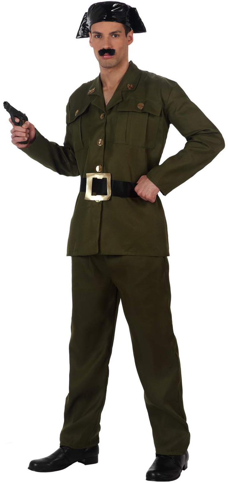 Déguisement garde militaire