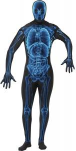 deguisement squelette rayon X