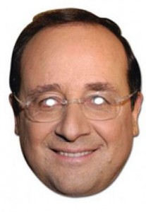masque francois hollande