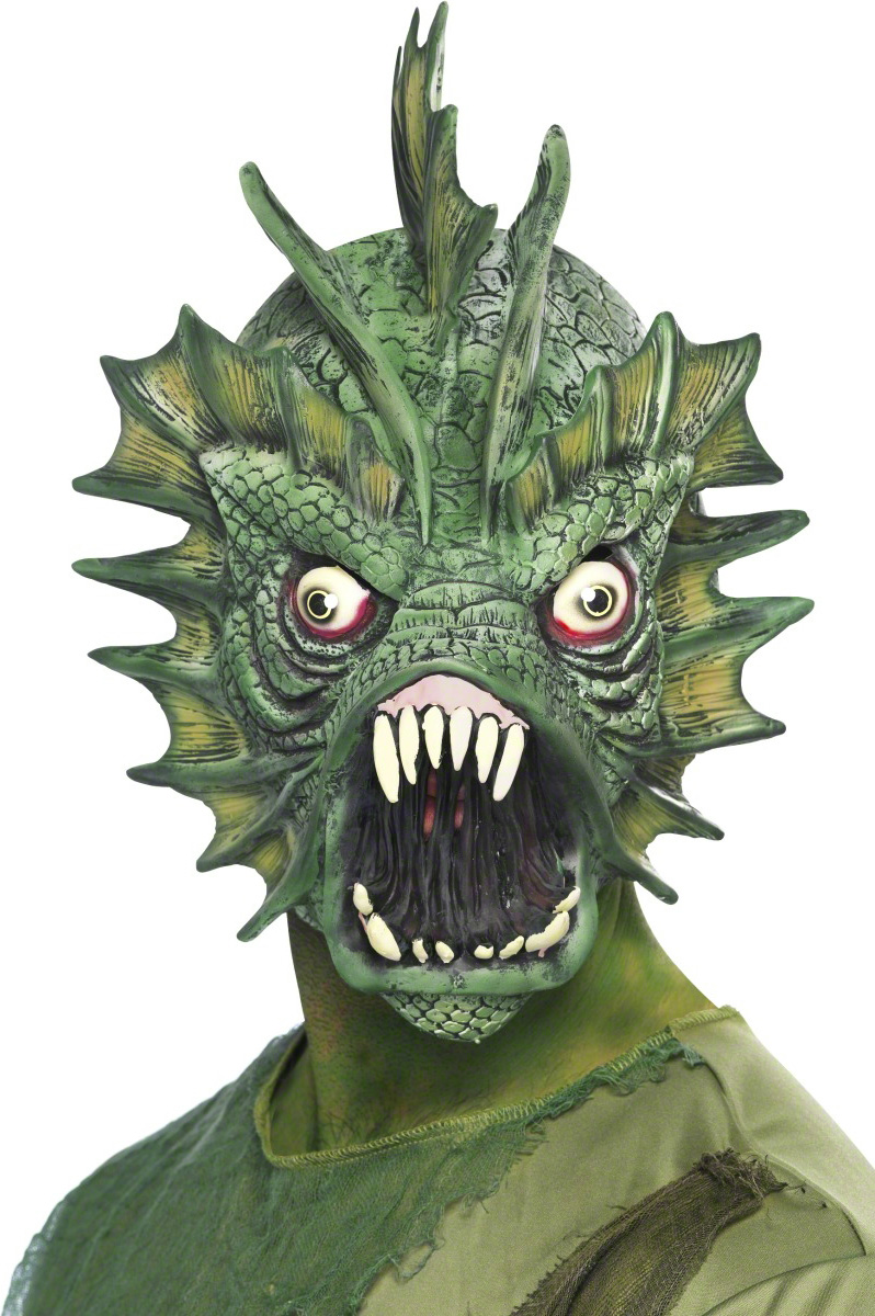 masque monstre marin