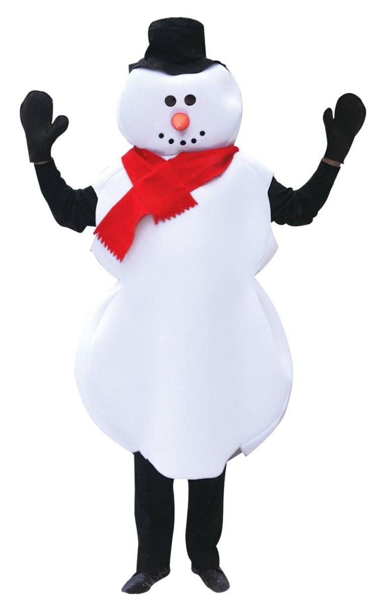 costume bonhomme de neige
