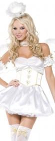Costume ange blanc