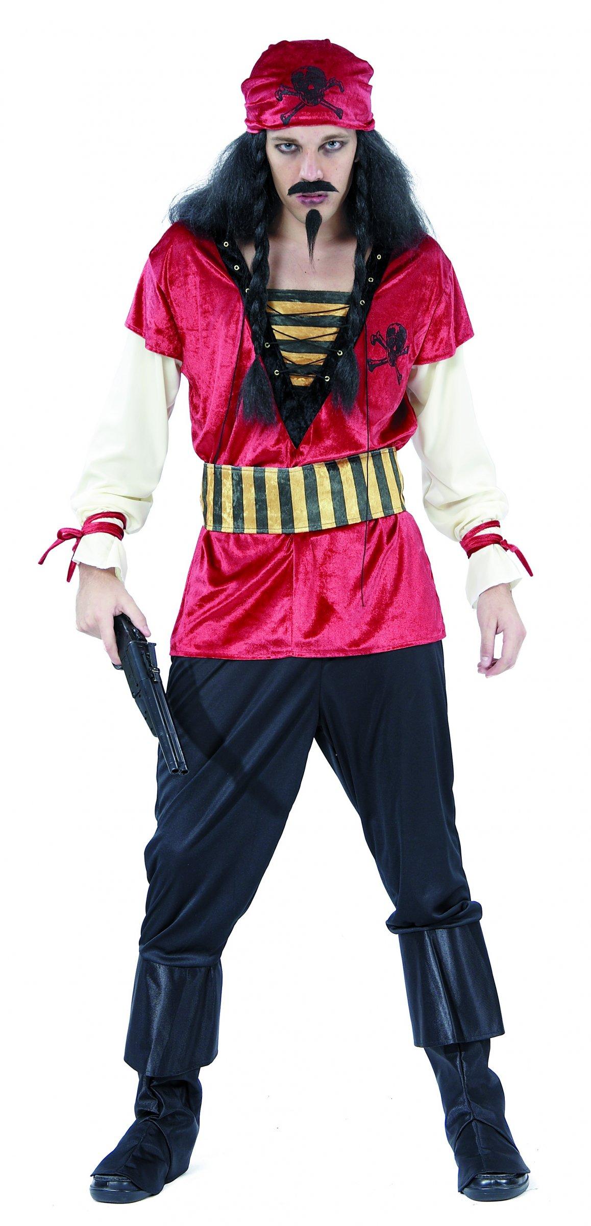 Déguisement de pirate adulte