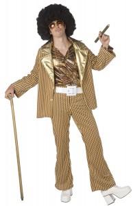 Deguisement doré disco