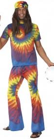 Déguisement hippie 60′s Homme