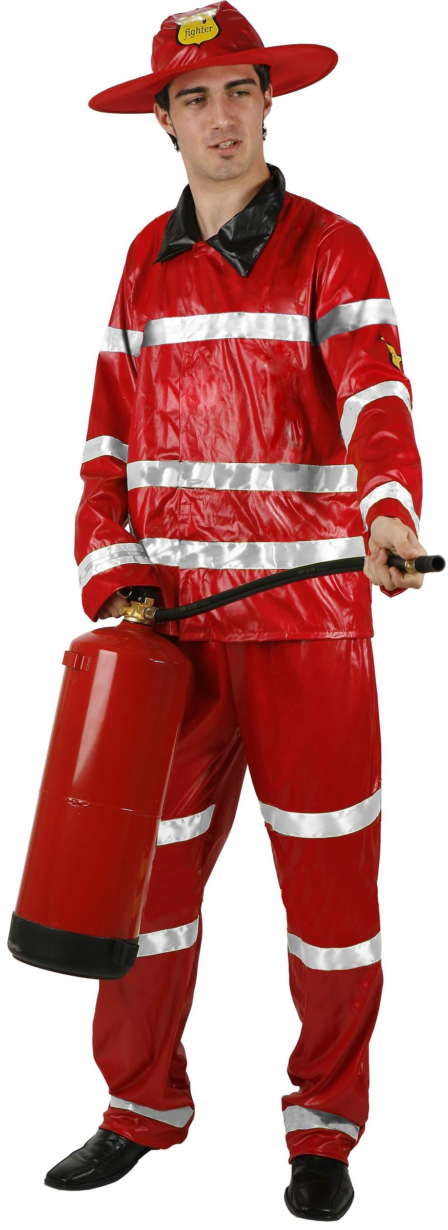 deguisement pompier homme