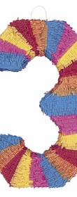Piñata chiffre 3