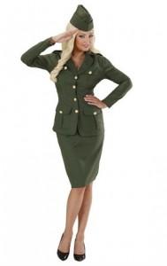 uniforme militaire femme