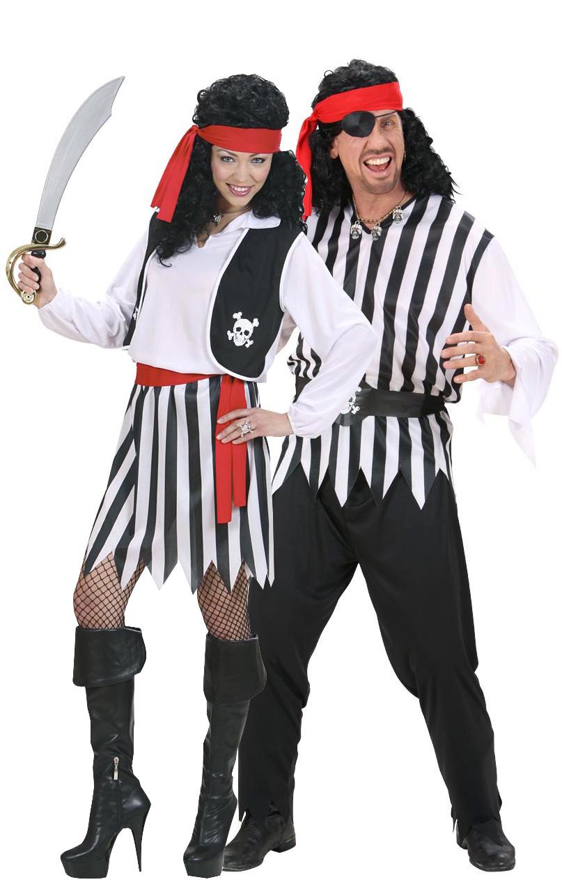 Déguisement pirate couple