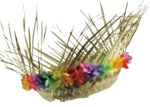 chapeau de paille tropique